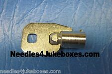 1 Wurlitzer WCX ACE Cashbox or Wallbox Key Fits: 5207, 5250, 5220, 5210, 5225