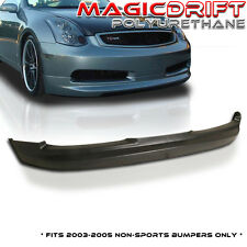 FIT FOR 03-06 INFINITI G35 COUPE URETHANE FRONT BUMPER LIP SPOILER BODY KIT