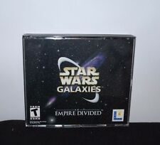 Star Wars Galaxies An Empire Divided PC Windows Computer Video Game Collectible