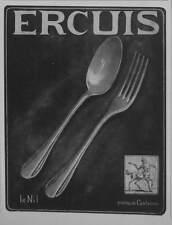 PUBLICITÉ 1928 ERCUIS LE NIL POINÇON CENTAURE - ADVERTISING