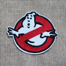 Embroidered Retro Ghost Busters Sew Iron On Patch Badage Bag Hat Jeans Applique