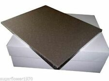 "18 x14 "" inch oblong rectangle cake drum board and box FAST DESPATCH"