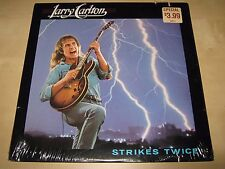 LARRY CARLTON Strikes Twice SEALED NEW LP 1980 BSK 3380 Cut Robert Pops Popwell