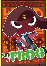 Sgt. Frog Season Two (DVD, 2011, 4-Disc Set)