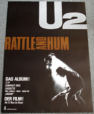 Poster Plakat - U2 : Rattle and Hum, Format DIN A1