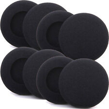 8 x EarPads For Sony MDR Headset Covers HeadPhone Ear Pad Foam Cushions 50mm