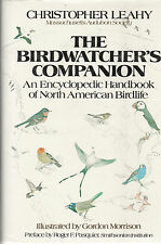 FIELD GUIDE CHRISTOPHER LEAHY BIRDWATCHER'S COMPANION H/C D/J 1984