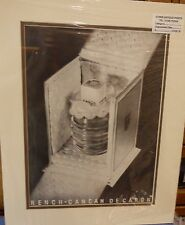 Original Vintage Advert mounted ready to frame Rench-Cancan DeCaron 1937