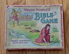 RARE Antique Parker Brothers Young People's Bible Game