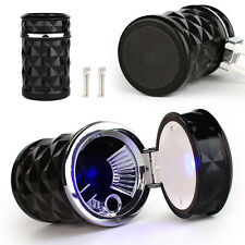 LED Auto Car Truck Cigarette Smoke Ashtray Ash Cylinder holder for offiice/home