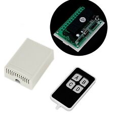 DC 12V 10A 4 Ch Signal Wireless Controller Remote Control Switch 315MHz New