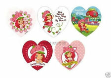 10 Strawberry Shortcake Heart Shaped Stickers Party Goody Loot Bag Favor Supply