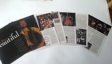 RONNIE LANE (FACES) 'all too beautiful'  great 12 page UK ARTICLE / clipping