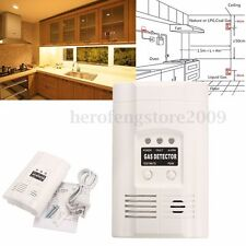 High Sensitivity LPG LNG Coal Natural Gas Leak Detector Sensor LED Warning Alarm