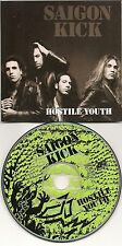 SAIGON KICK HOSTILE YOUTH 1 TRACK USA PROMO 1992 PICTURE CD SINGLE