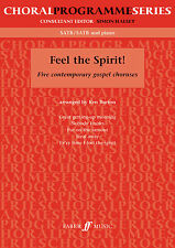 Feel The Spirit Choral Gospel Mixed Voices Easy Learn to Play FABER Music BOOK