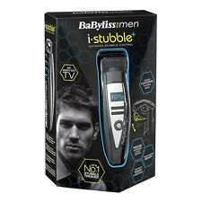 BABYLISS i-Stubble + 7895U PLUS Mens Cordless Rechargeable Beard Trimmer NEW