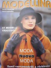 MODELLINA n°105 1998  - con cartamodelli  [M8]