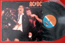 AC/DC IF YOU WANT BLOOD UNIQUE LABEL RARE EXYUGO LP