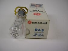GE Projection Lamp DAS 500W 115-120V NOS