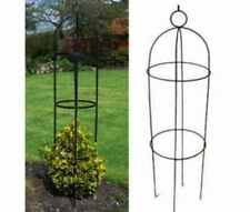 KINGFISHER STEEL GARDEN OBELISK GARDEN OUTDOOR ROSE ARCH1.9M CLIMBING PLANTS NEW