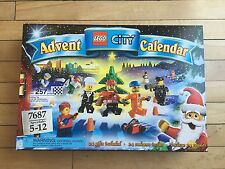 NIB LEGO City Christmas Holiday Advent Calendar 7687 New In Sealed Box