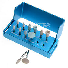 12Pcs/Set Dental Composite Polishing Set for Low Speed Contra Angle Handpiece