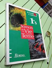 Sciences de la vie et de la terre 1reS  R. Tavernier C. Lizeaux