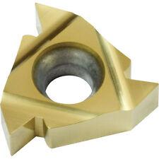 1 plaquette carbure 11IR A60 pour outil à fileter intérieur Métrique 60°