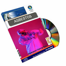 Asbestos Risk Management Health & Safety COSHH Powerpoint Training Course on CD