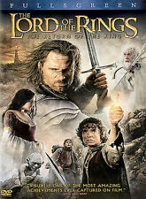 The Lord of the Rings: The Return of the King (DVD, 2004, 2-Disc Set,...