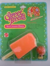 "RARE ! VINTAGE SWEET TREATS "" ORANJEANA""  KIDDLE ICE CREAM BARS MATTEL 1978  L2"