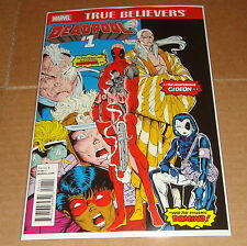 Marvel True Believers Deadpool #1 New Mutants #98 1st Print