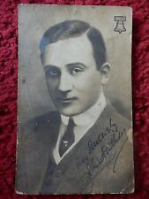 ACTOR JOHN HALLIDAY AUTOGRAPHED POSTCARD PHOTO