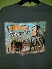 NWT Mens L University Of TN VOLS, Tennessee Sportsman Shirt Deer Hunting NCAA