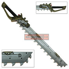 FOAM Chainsaw Sword Sky Pirate Weapon Cosplay Steampunk LARP Latex Prop Cutlass