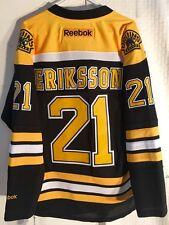 Reebok Premier NHL Jersey Boston Bruins Louie Eriksson Black sz XL
