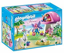 Playmobil 6055 Princess Fairies Playset with Toadstool House Ages 4+ Fairy Toy