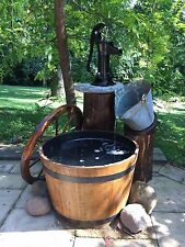 Water Feature Rustic Country Style