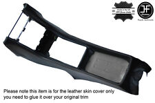 BLACK STITCHING CENTER CONSOLE LEATHER COVER FITS MERCEDES SL C107 R107 71-89