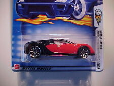 Hot Wheels 2003 First Editions  #18 Bugatti Veyron  MINT  Red/Black
