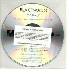 (291D) Blak Twang, So Hard - DJ CD