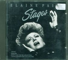 Elaine Paige – Stages No Barcode (Tony Visconti) Cd Eccellente