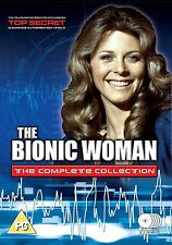 THE BIONIC WOMAN SEASONS 1-3 COMPLETE DVD BOX SET NEW AND SEALED UK SERIES 1 2 3