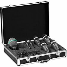 AKG Drum Set Concert 1 Professional Drum Microphone Set New