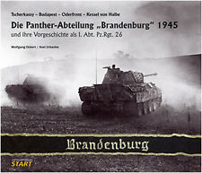 """THE PANTHER BATTALION """"BRANDENBURG"""" 1945 ODER FRONT - SEELOW HEIGHTS - THE HALBE"""