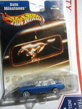 2001 HOT WHEELS 'AUTO MILESTONES'1965 FORD  MUSTANG CONVERTIBLE REAL RIDER TIRES