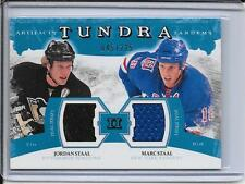 11-12 Artifacts Jordan Staal/Marc Staal Tundra Tandems Jersey #d/225