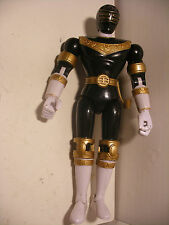 "Sentai robot  POWER RANGERS 1995 Mighty Morphin ZEO figure DX 8"" 20cm Noir MMPR"