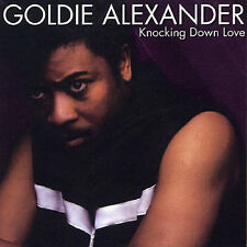 Knocking Down Love by Goldie Alexander (CD, Jan-2001, Unidisc)